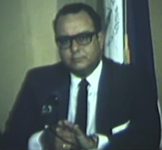 Anastasio Somoza Debayle President of Nicaragua from 1967 to 1972 and 1974 to 1979