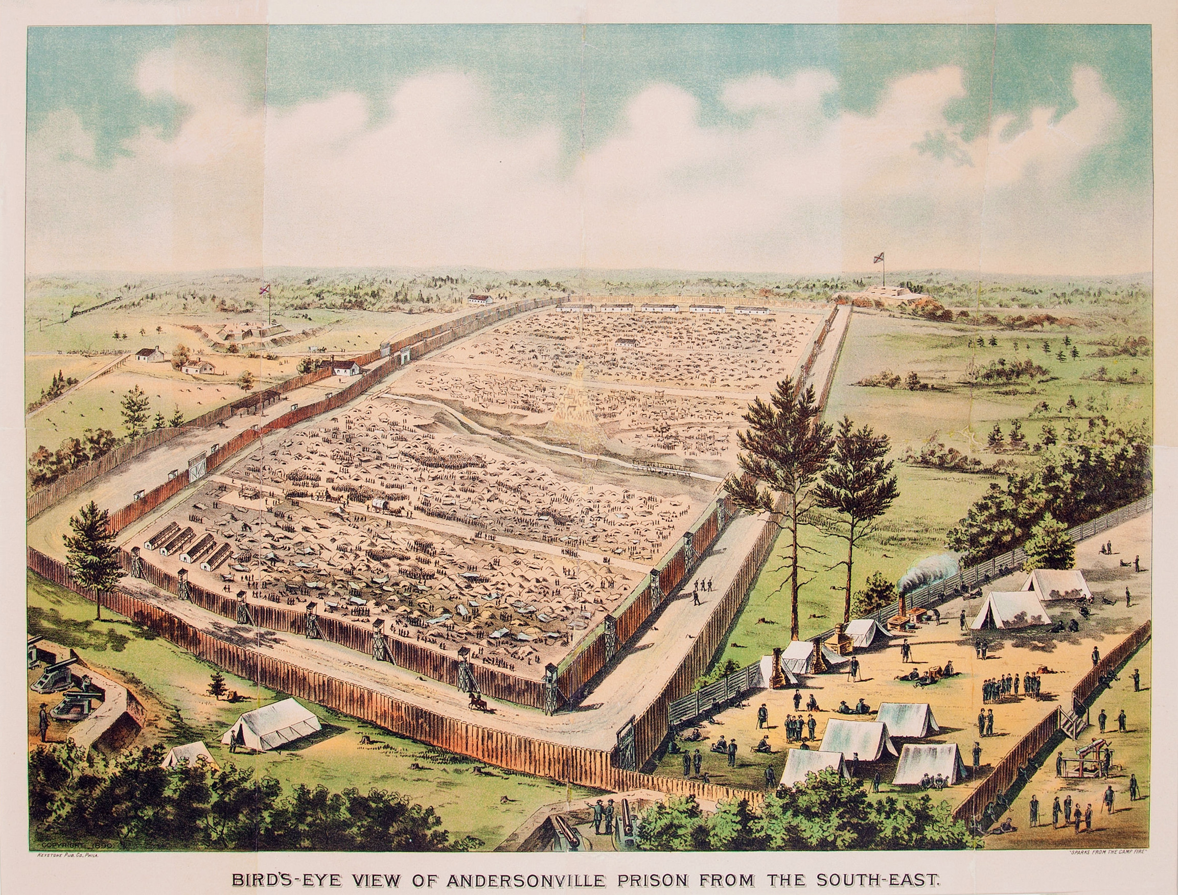 a history of andersonville and elmira prisons during the civil war