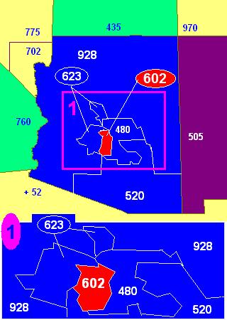Area Code 602 Wikipedia