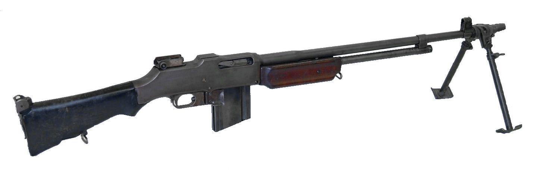Ручной пулемет на базе M1918