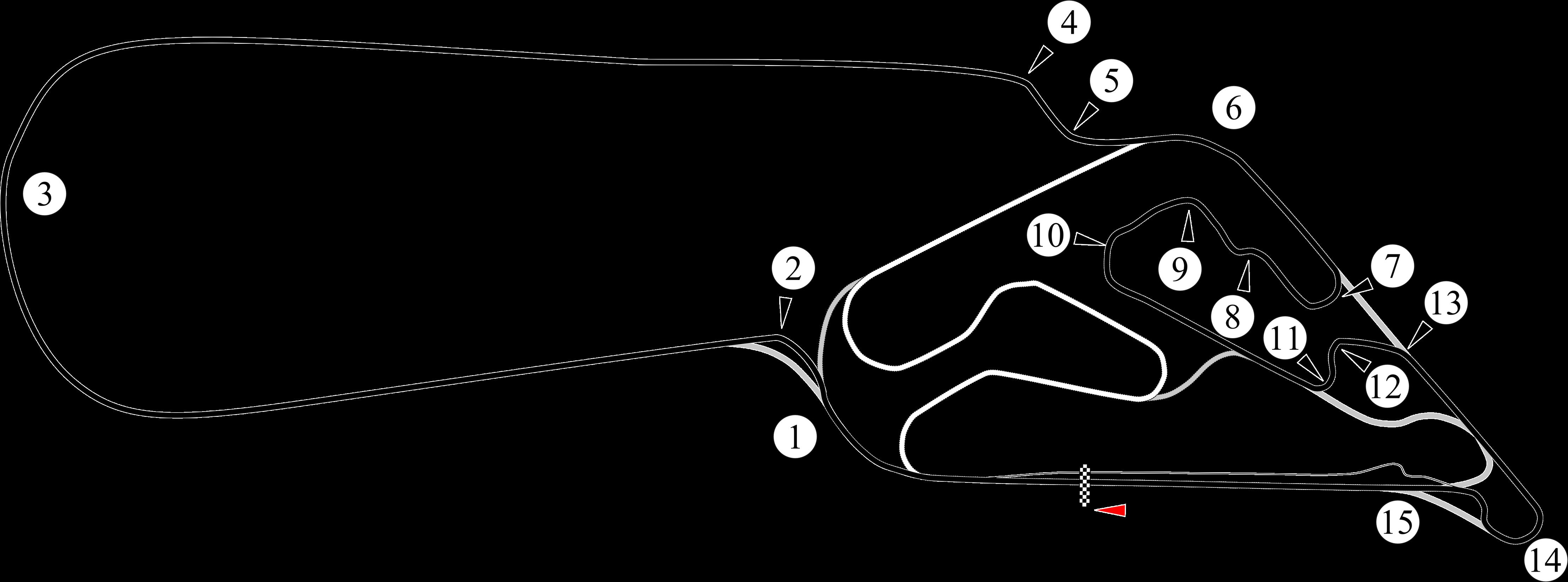Circuito Galvez : File autódromo oscar alfredo gálvez zoomed out