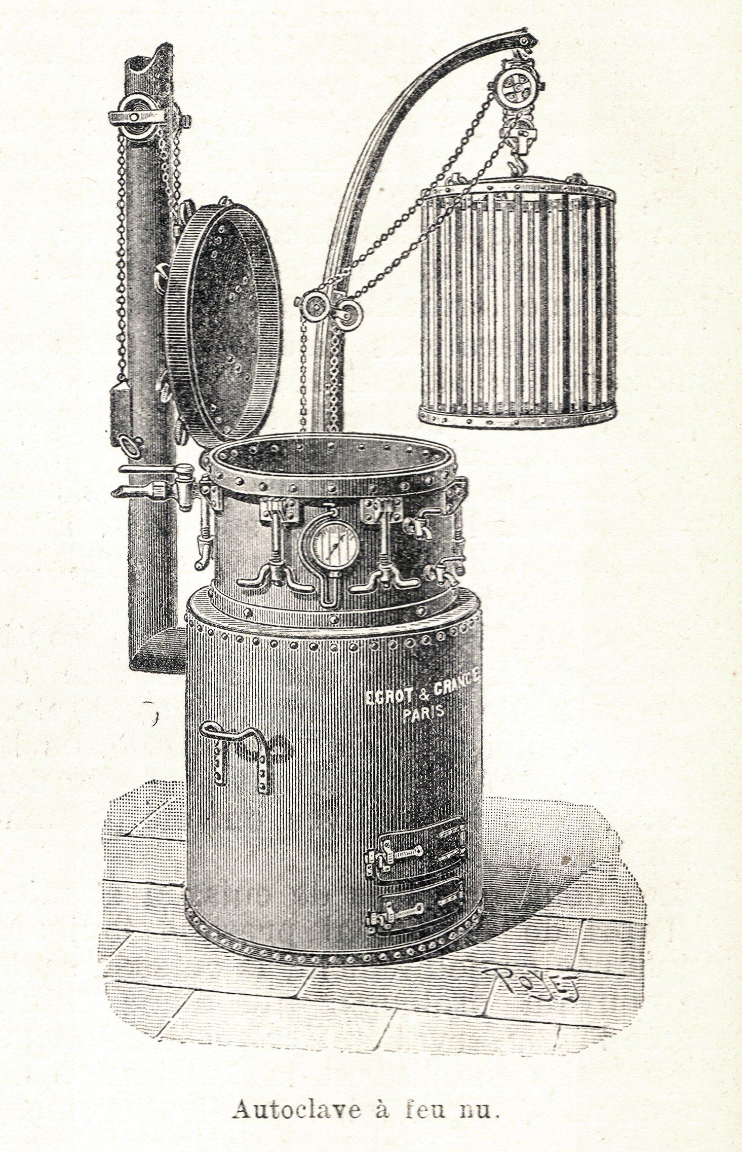 File autoclave feu epicier wikimedia commons for Autoclave pour conserves maison