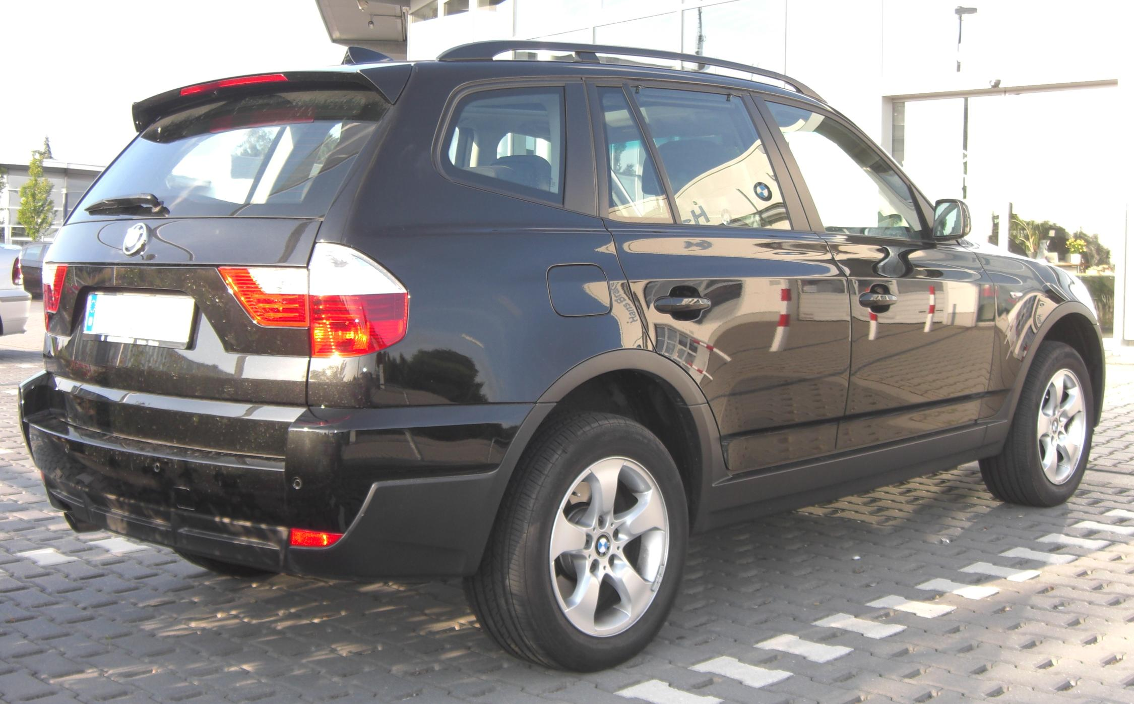 file bmw x3 facelift wikimedia commons. Black Bedroom Furniture Sets. Home Design Ideas