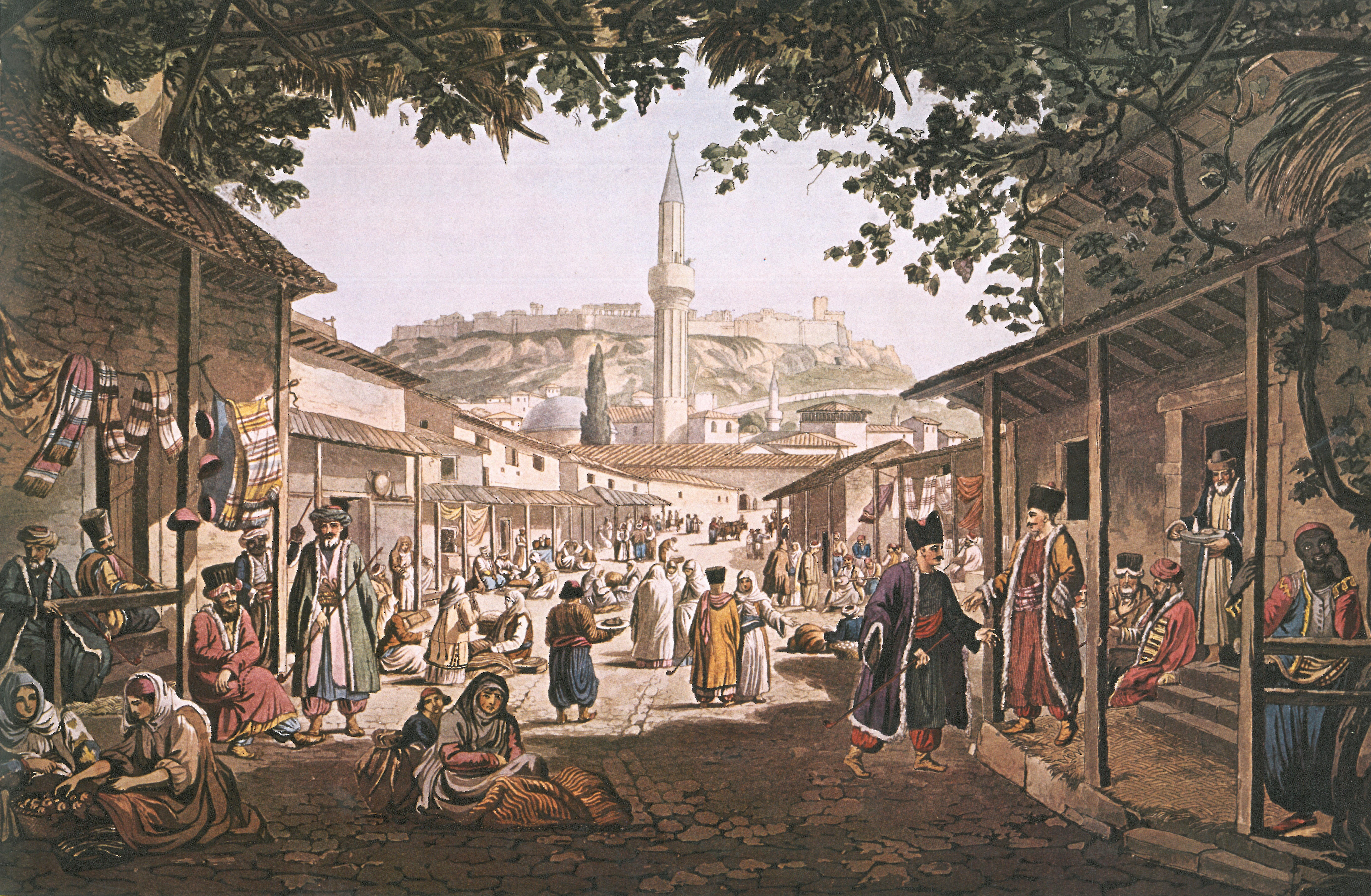 bazar di Atena - muslim