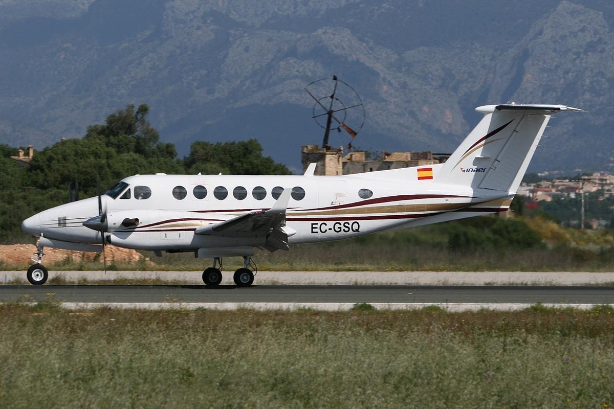 File beech b300 super king air 350 transportes a reos del - Transportes palma de mallorca ...