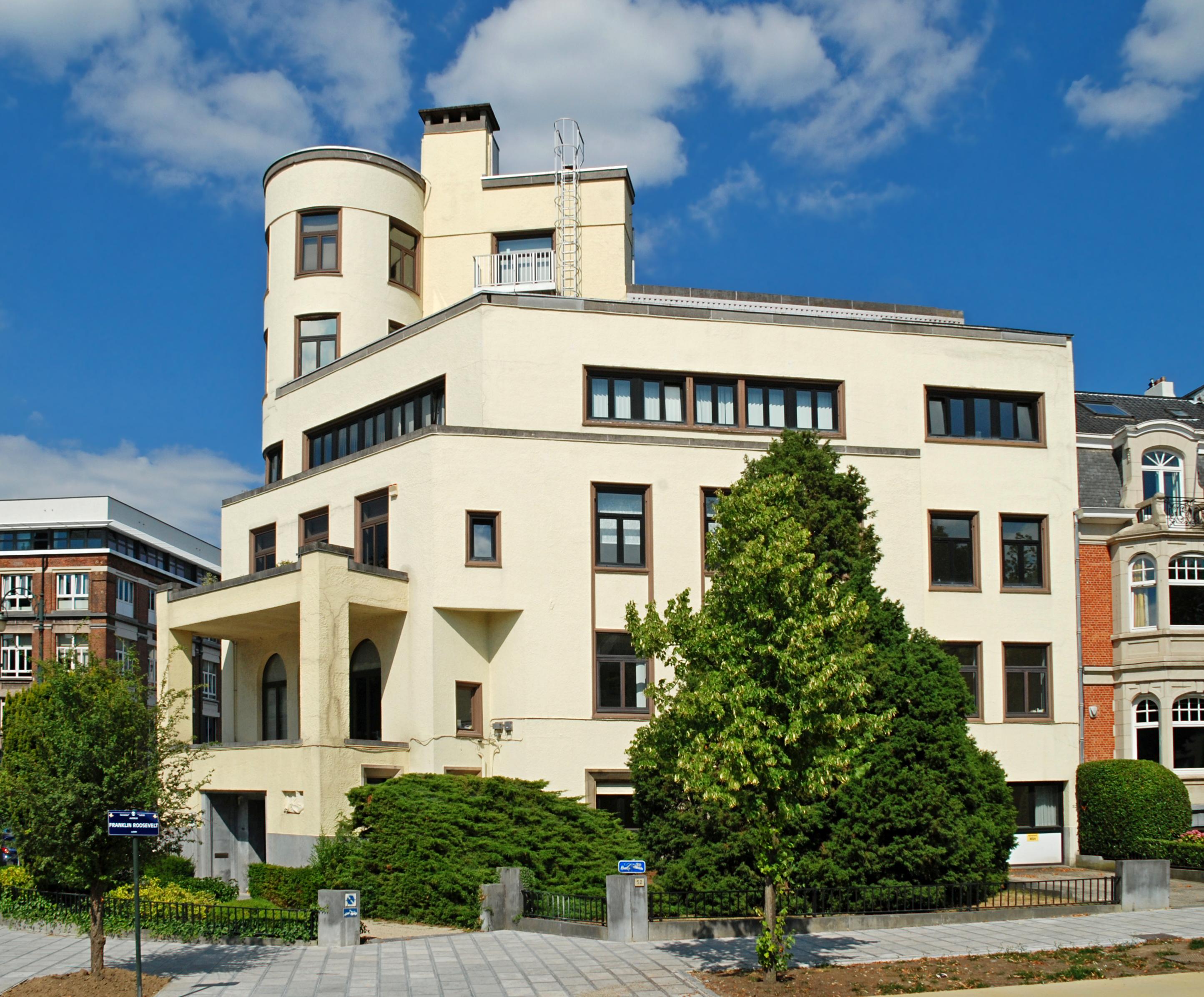 Qu Est Ce Qu Une Loggia maison blomme — wikipédia