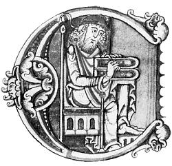 Zeichnung von Boethius