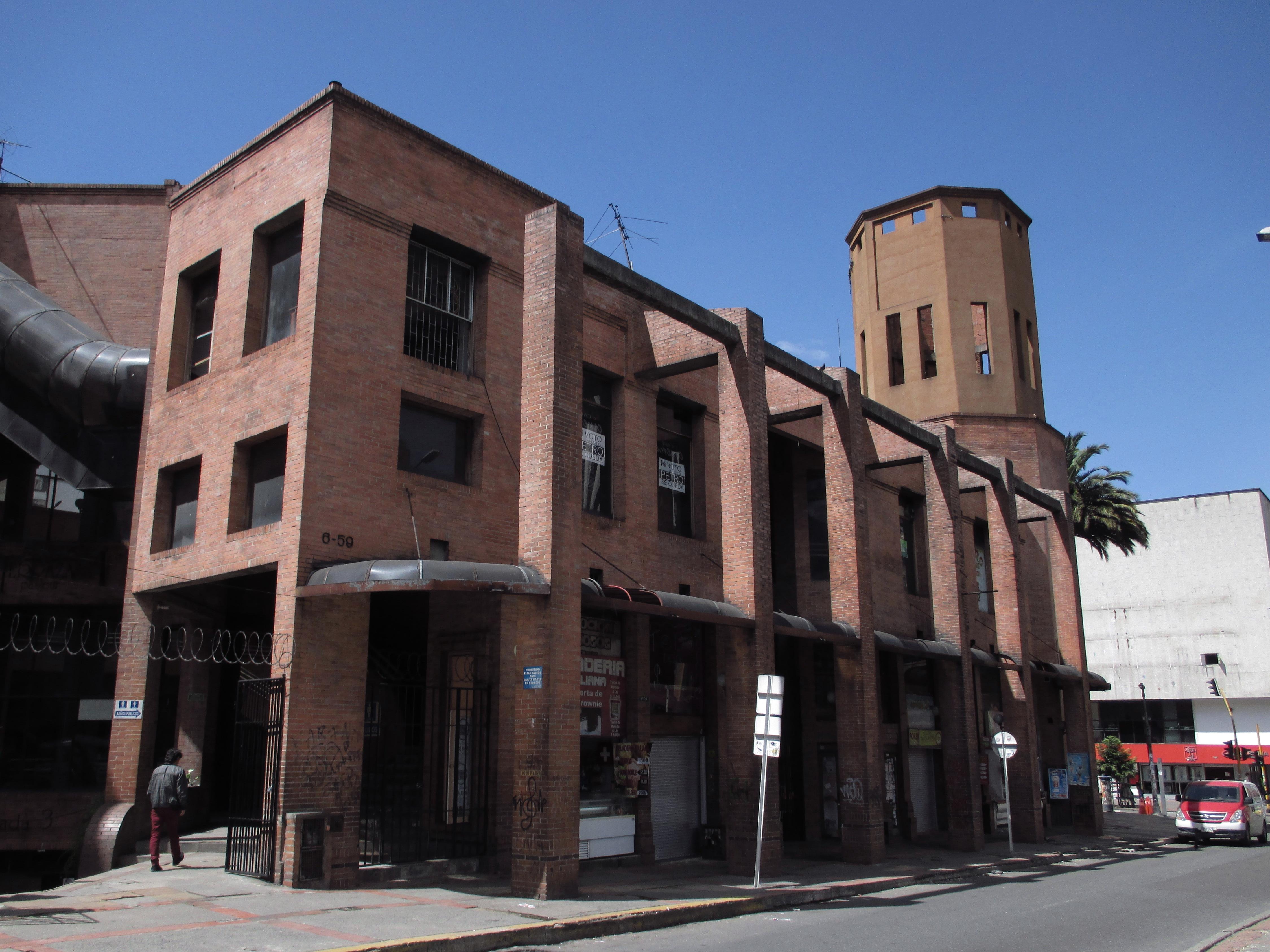 File Bogotá Centro Comercial Terraza Pasteur Calle 24 Jpg