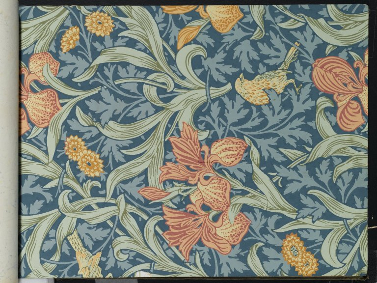File:Brooklyn Museum  Wallpaper Sample Book 1  William Morris and Company  page052.jpg