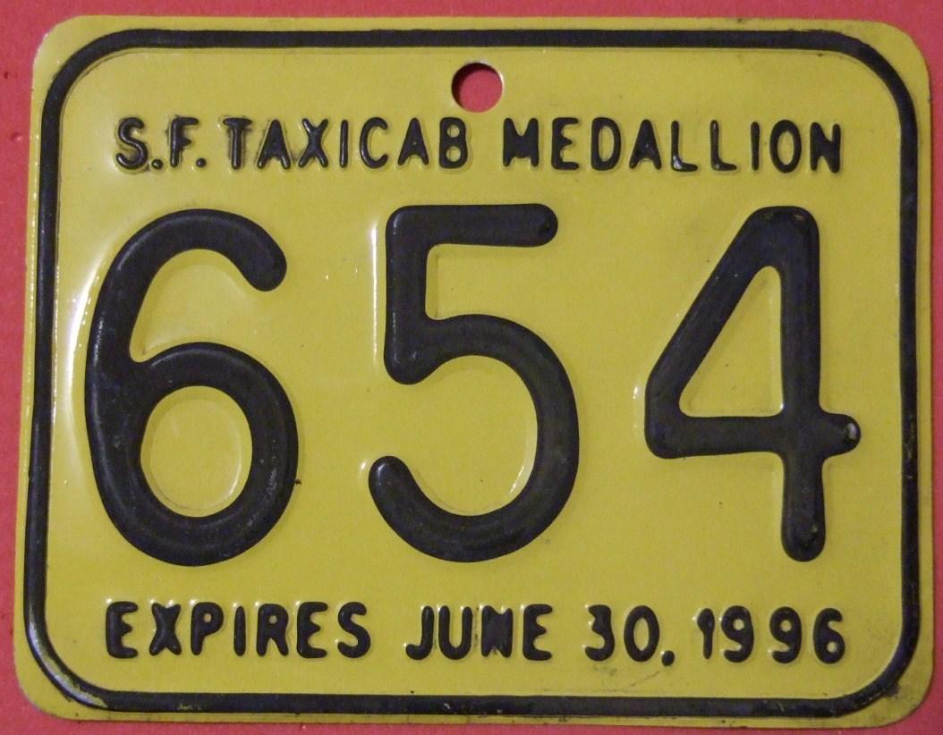 Taxi medallion - Wikipedia