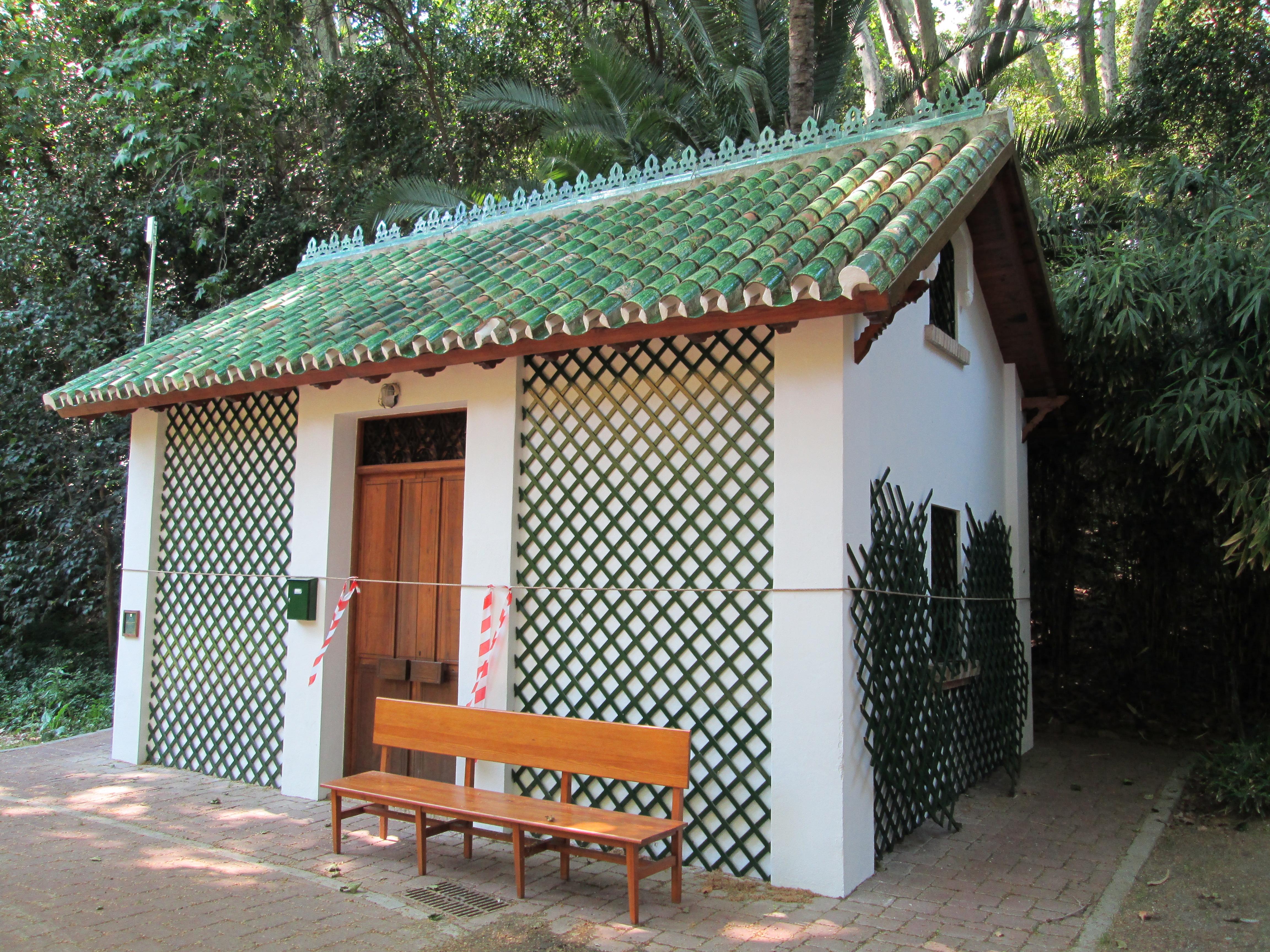 File casa del jardinero de la concepci for Jardinero en casa
