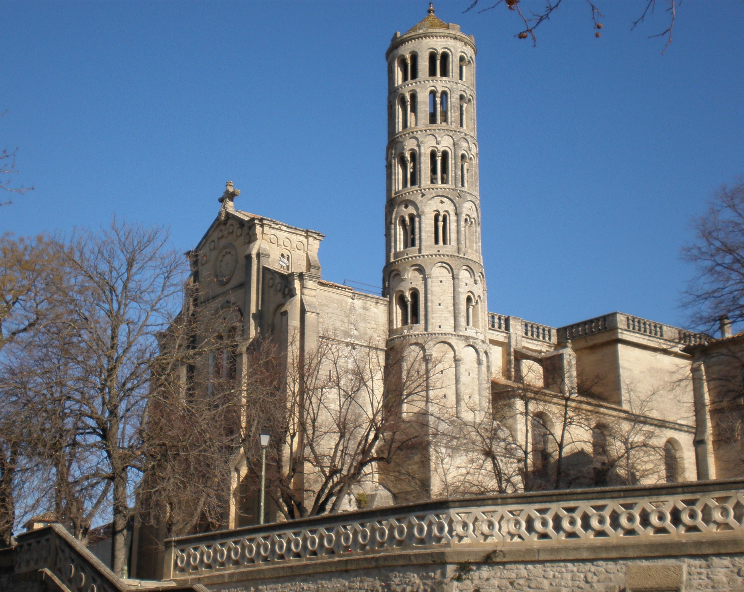 Uzes France  city images : Fichier:Cathédrale Uzès — Wikipédia