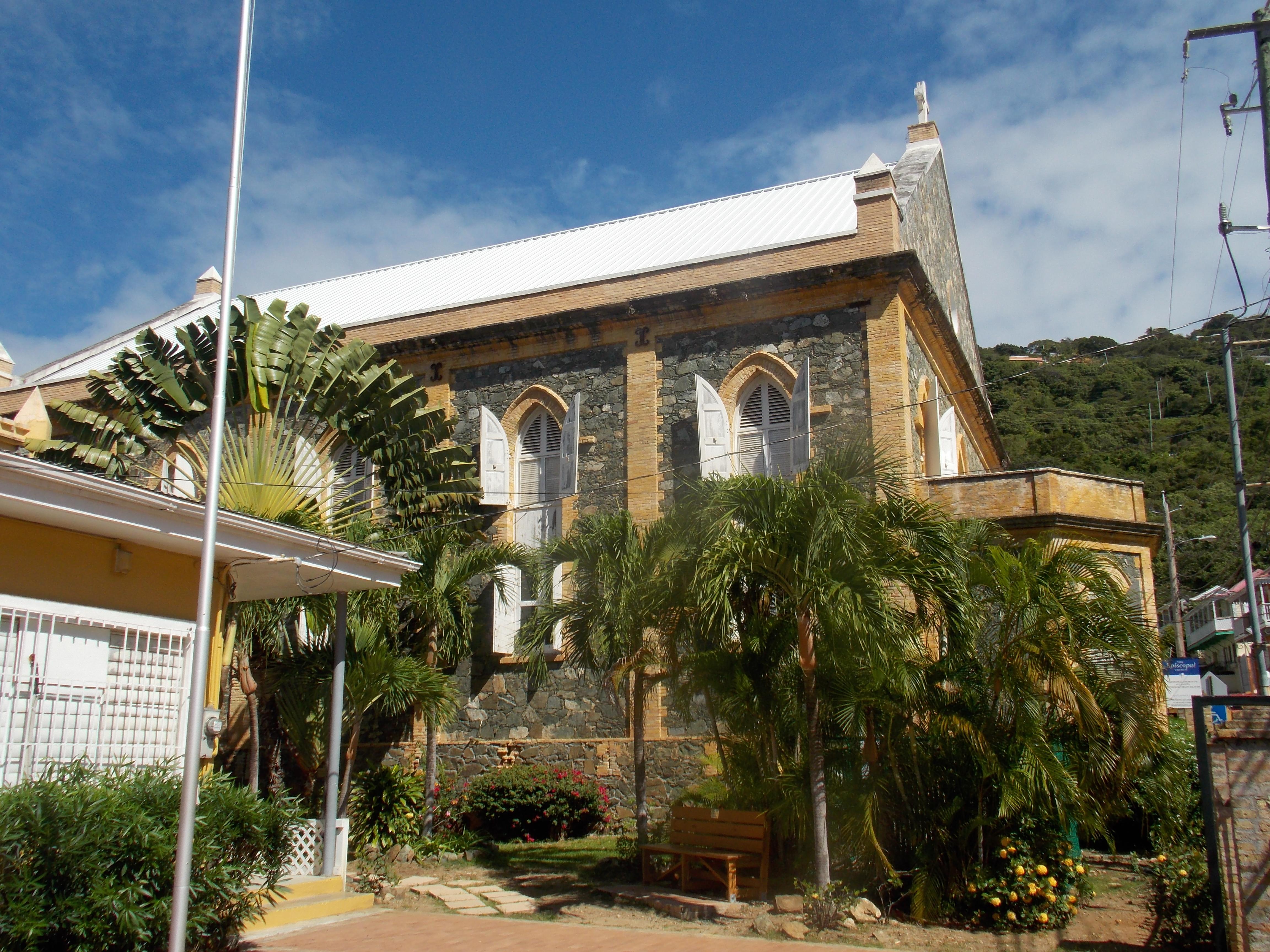 us virgin islands churches