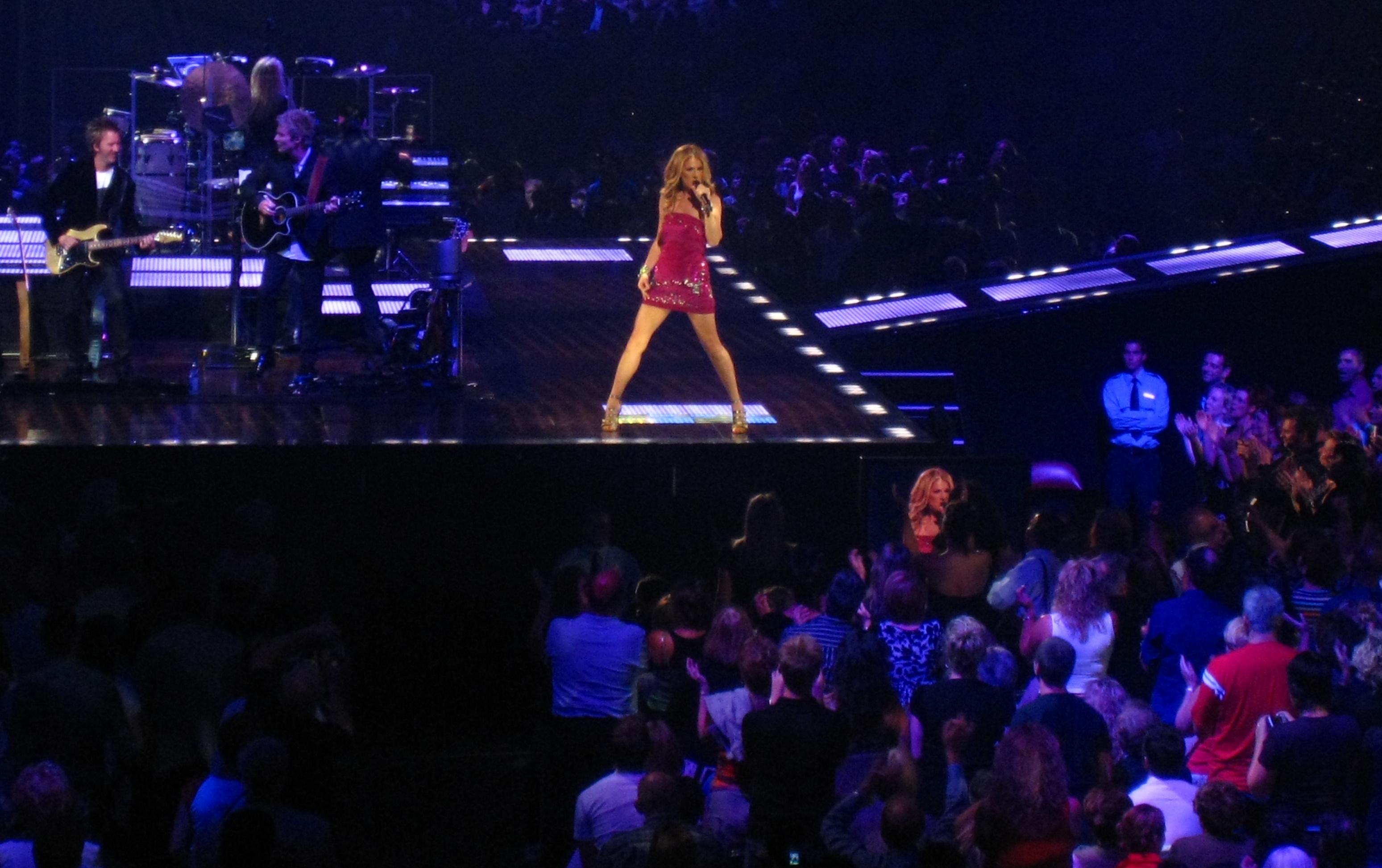 Celine Dion Tour Schedule