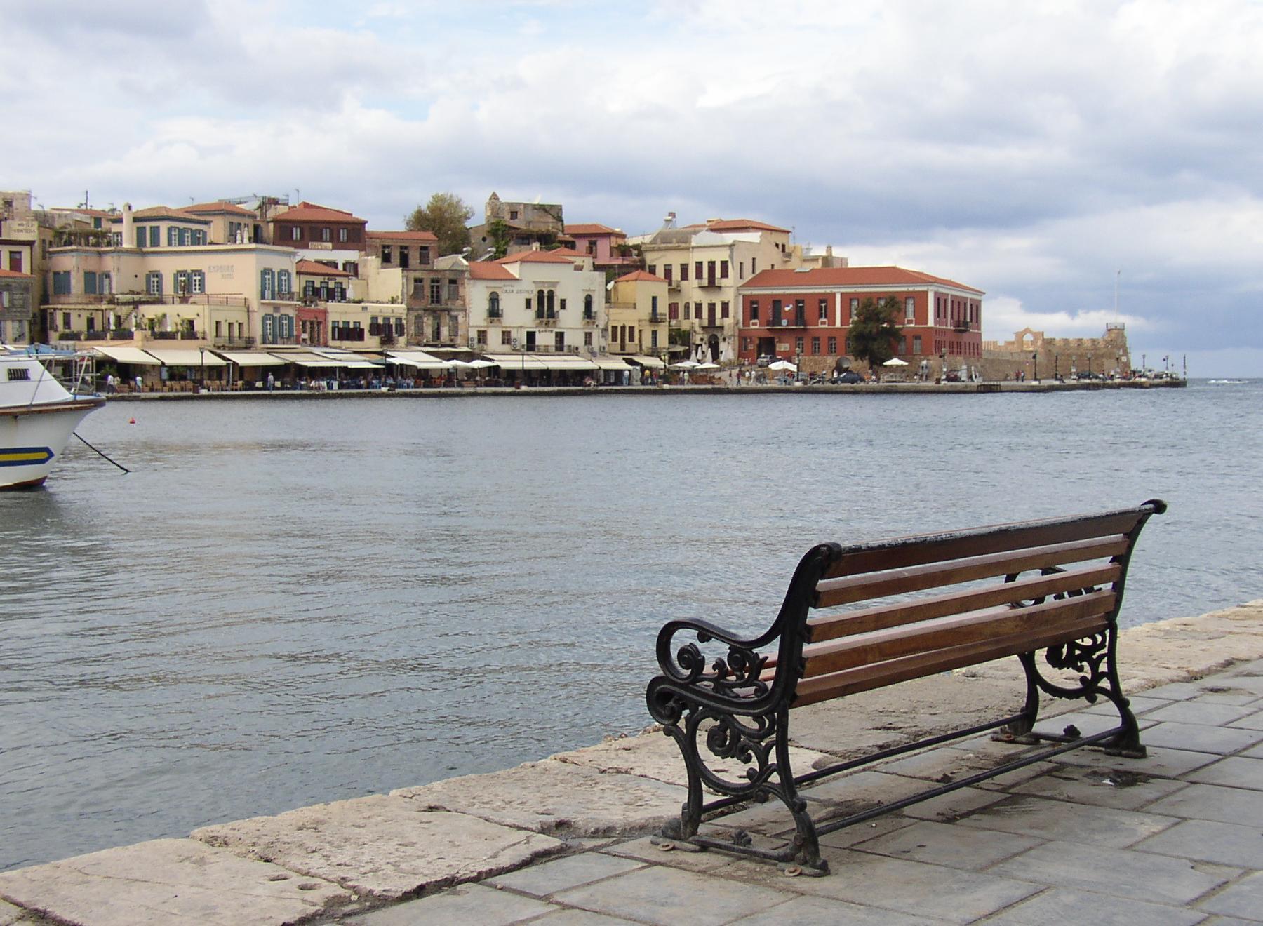 Chania Venedik limanı