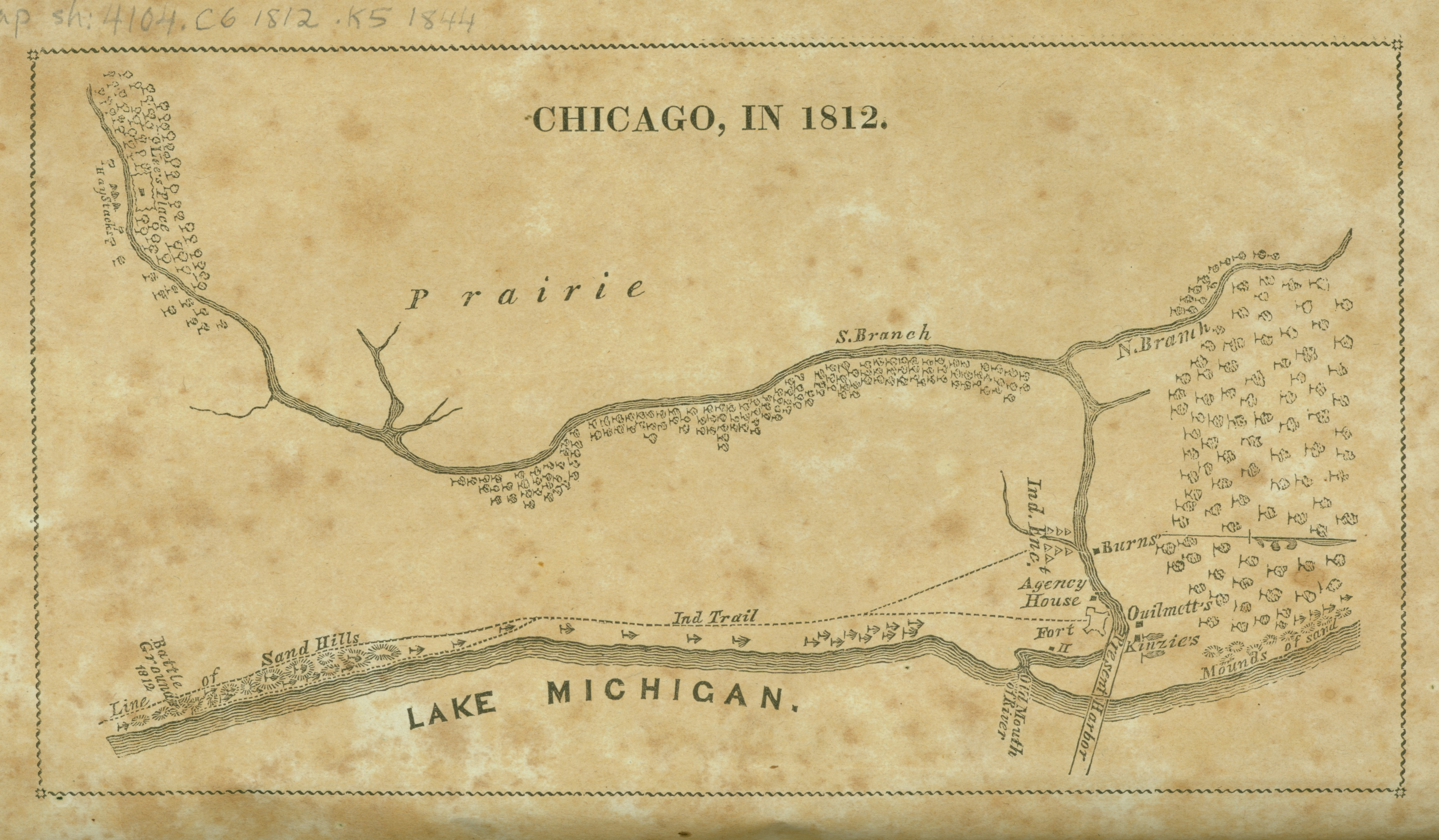 Chicago History - Chicago flooding map
