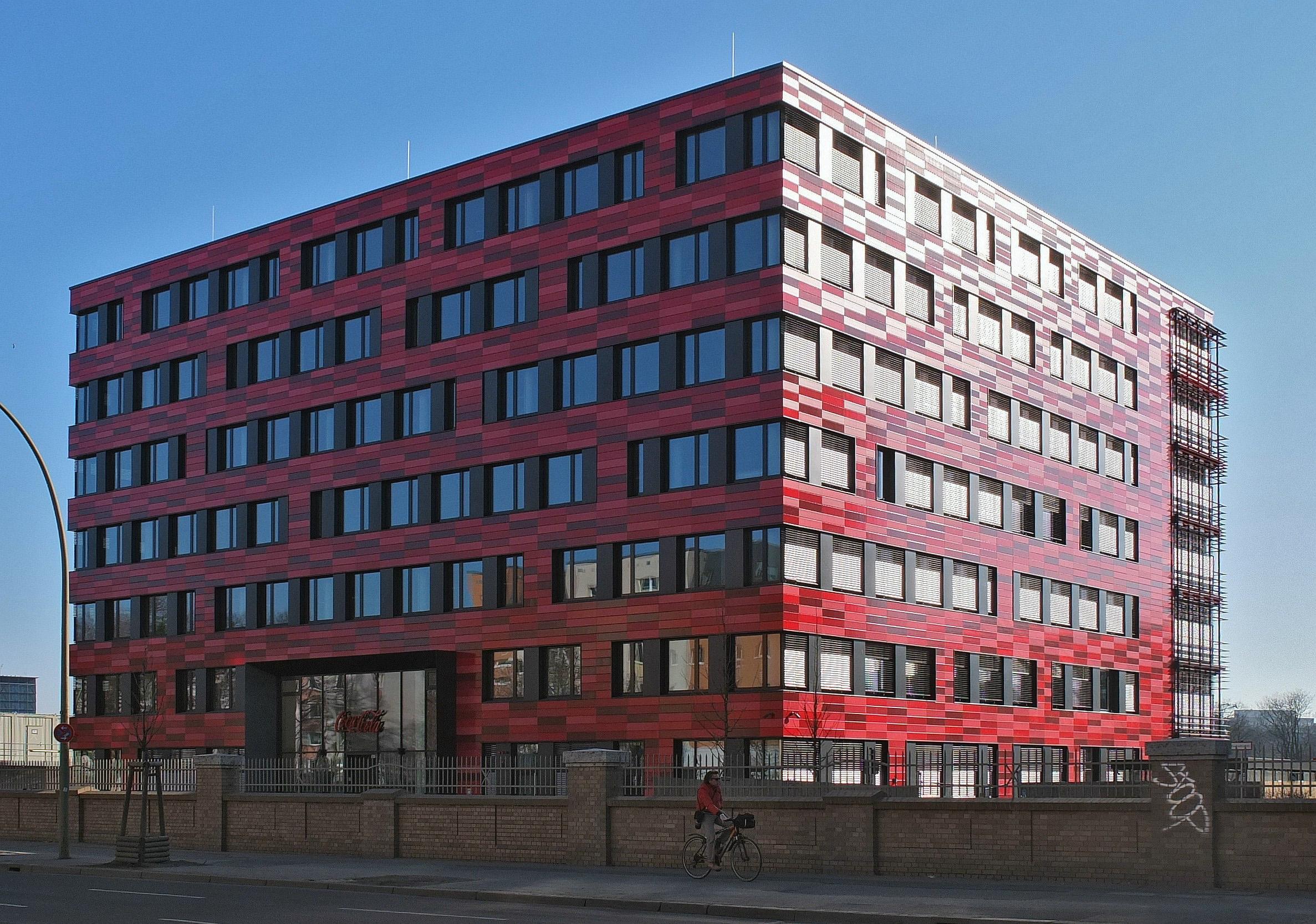 Deutschlandzentrale an der Stralauer Allee in Berlin