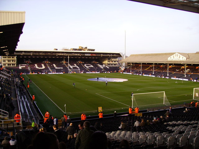 Craven Cottage - The home of Fulham FC.