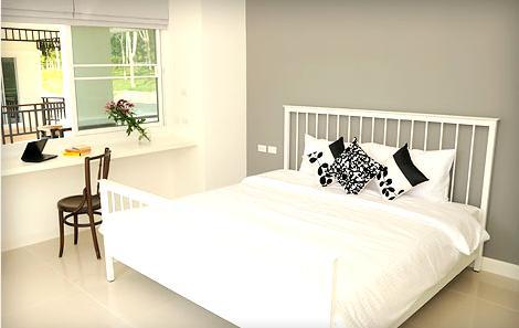 sypialania - nowoczesne mieszkanie