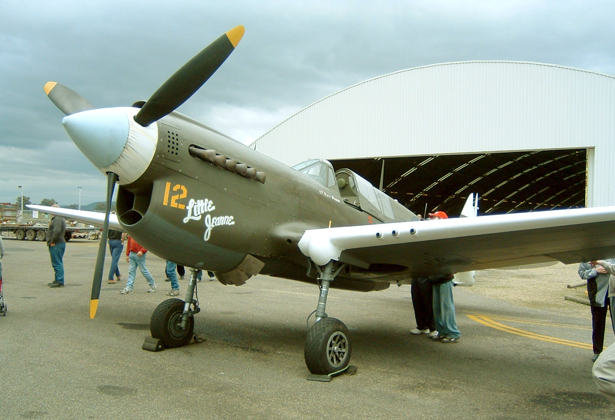 "Pearl Harbor >> File:Curtiss P-40N-5-CU ""Little Jeanne"" front quarter.jpg ..."