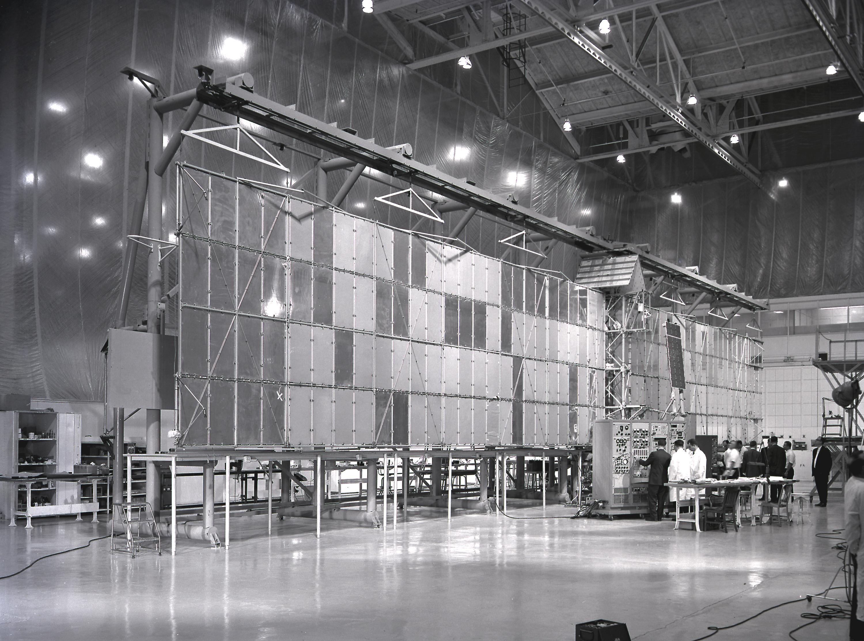 Saturn I SA-9 - 16.2.1965 Detector_arrays_of_a_Pegasus_satellite