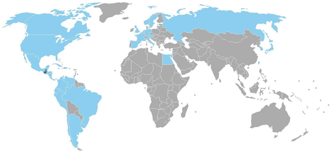 FileDiplomatic Missions of Guatemala Mappng Wikimedia Commons