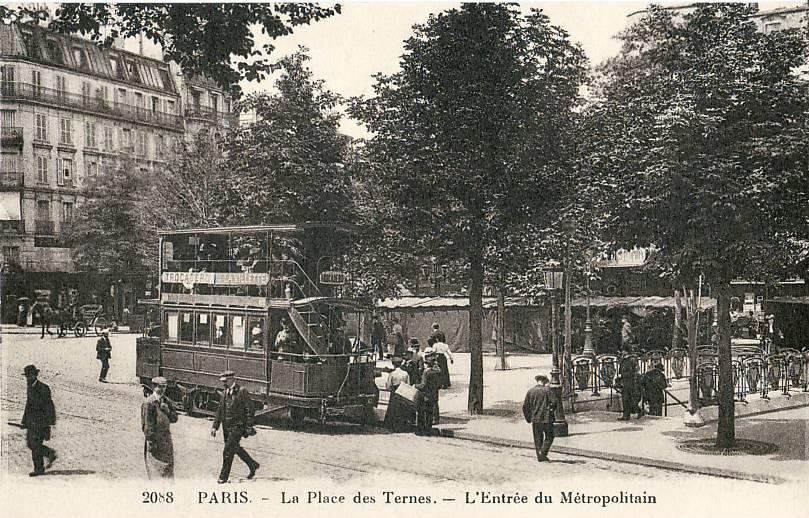 File:ES 2088 - PARIS - La Place des Ternes - L\'entrée du ...