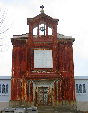 Eglise Sainte Barbe de Crusnes (Meurthe-et-Moselle), France