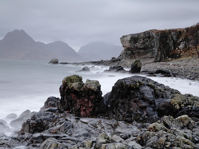 Elgol beach - geograph.org.uk - 391555