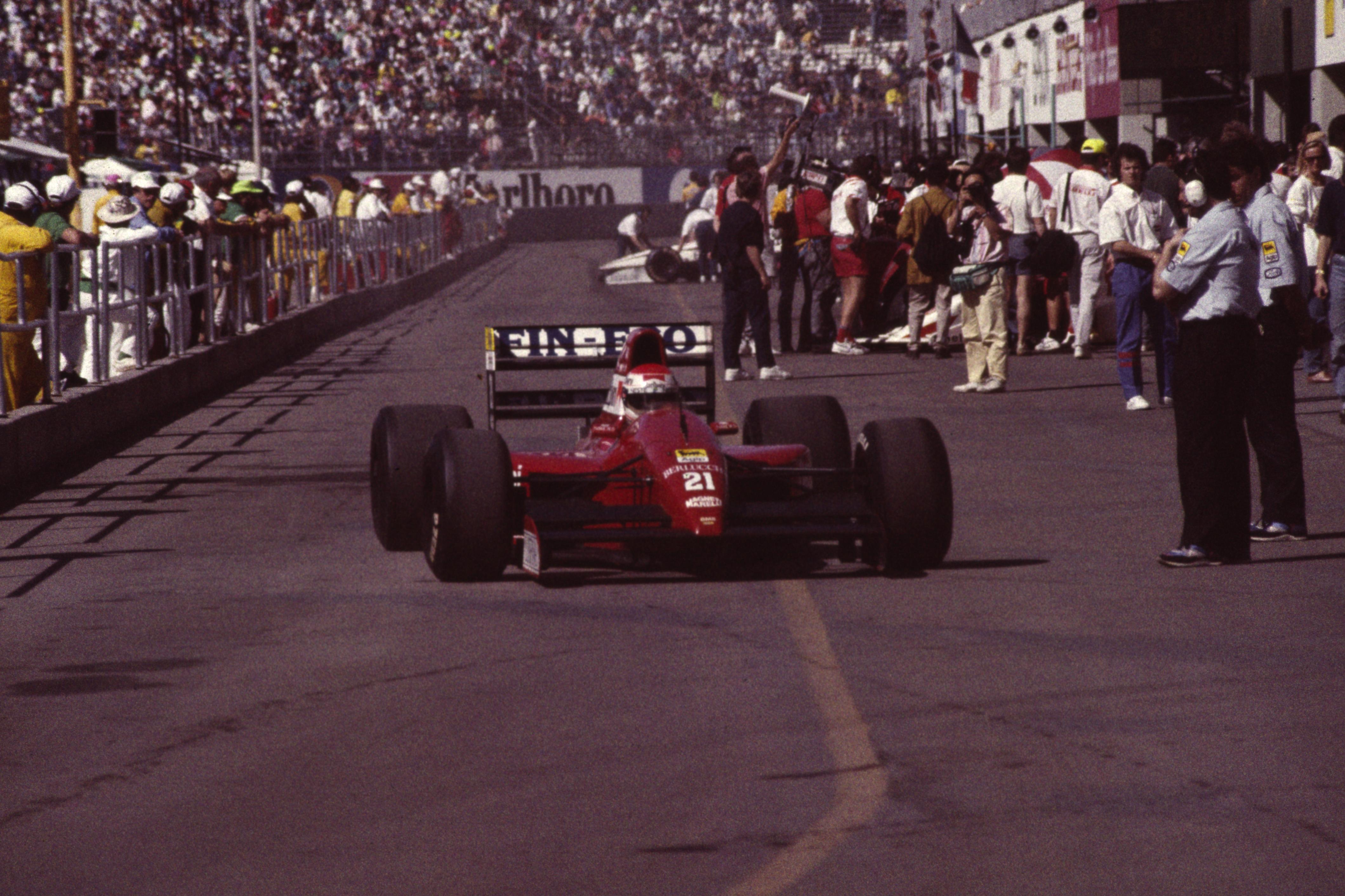 Image result for 1991 us grand prix
