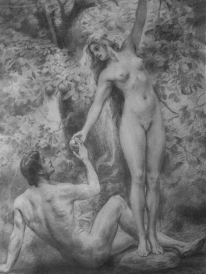 эротика адам и ева фото