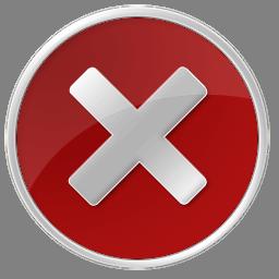 English: Error Icon