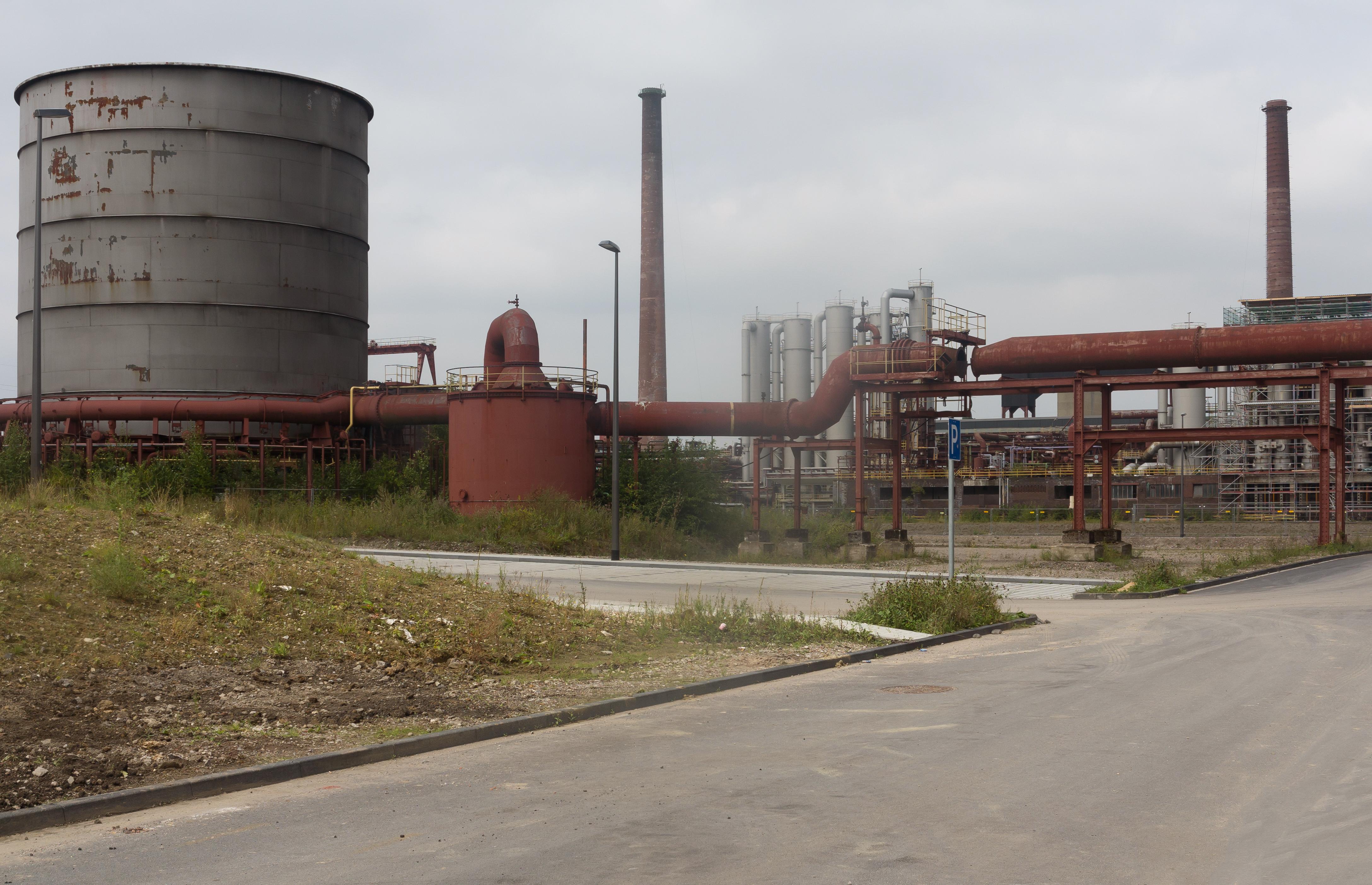 Datei:Essen-Stoppenberg, onderdeel van Zeche Zollverein Dm911 foto7 2016-08-