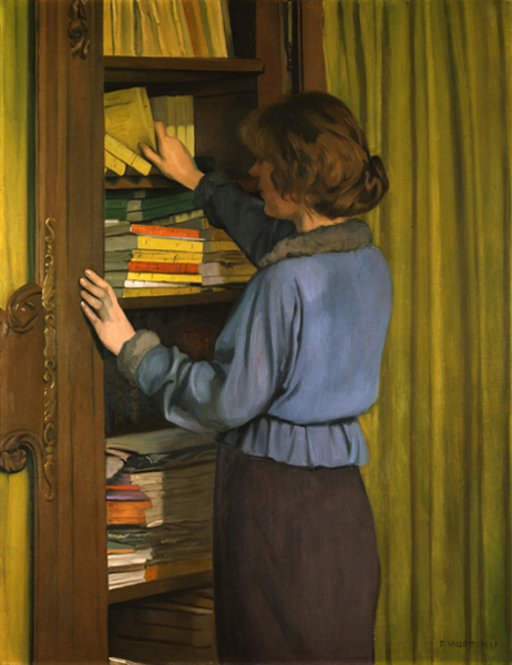 File:Félix Vallotton, 1915 - La bibliothèque.jpg