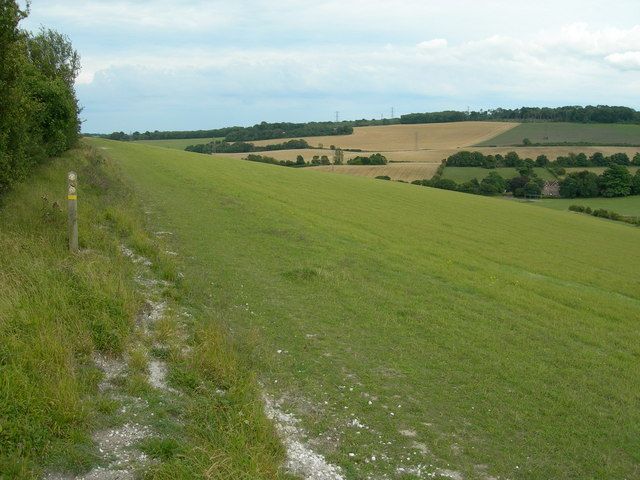 Footpath Junction Near Luddesdown - geograph.org.uk - 925824
