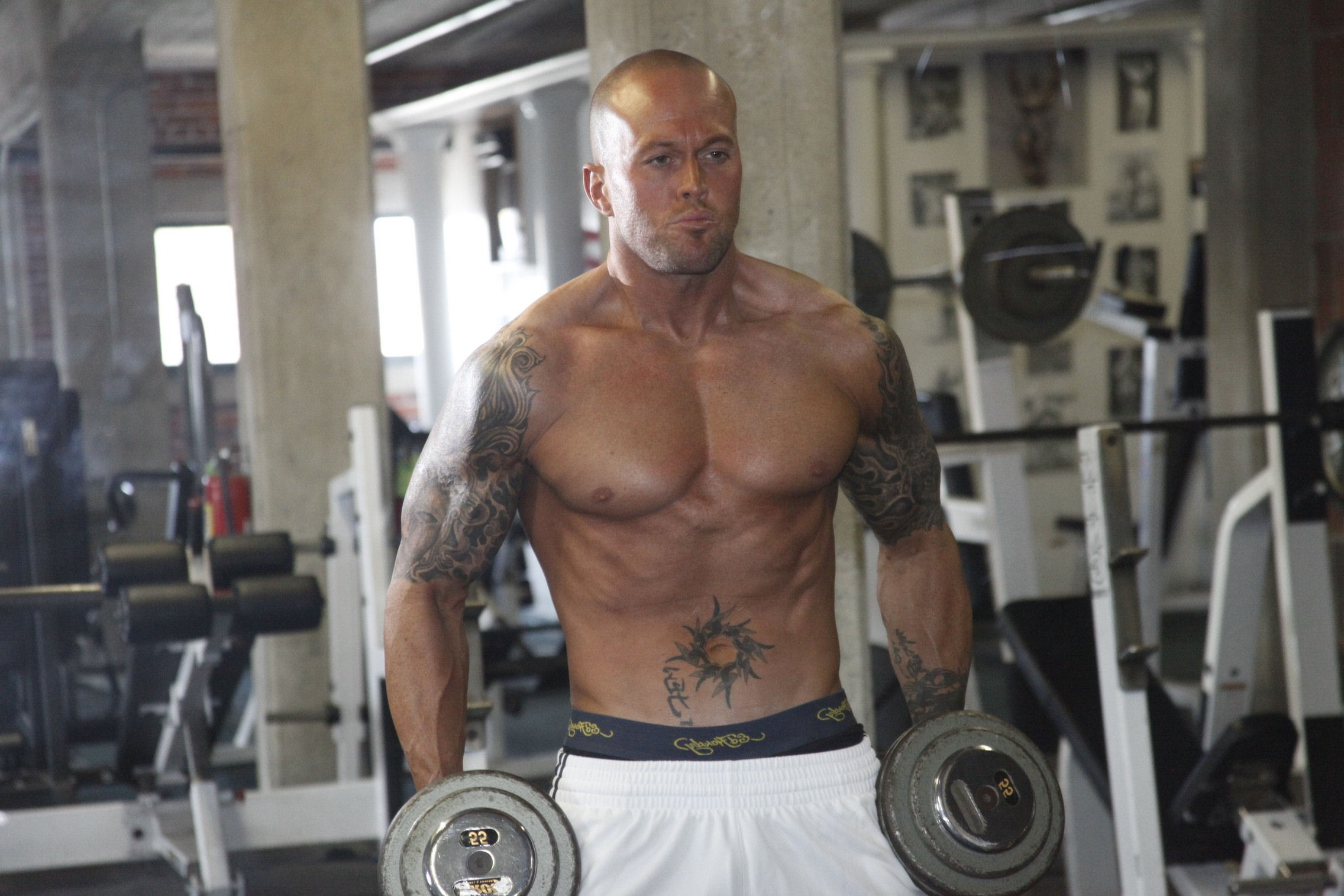 File:Former Professional Wrestler & Male Fitness Model John Quinlan ...