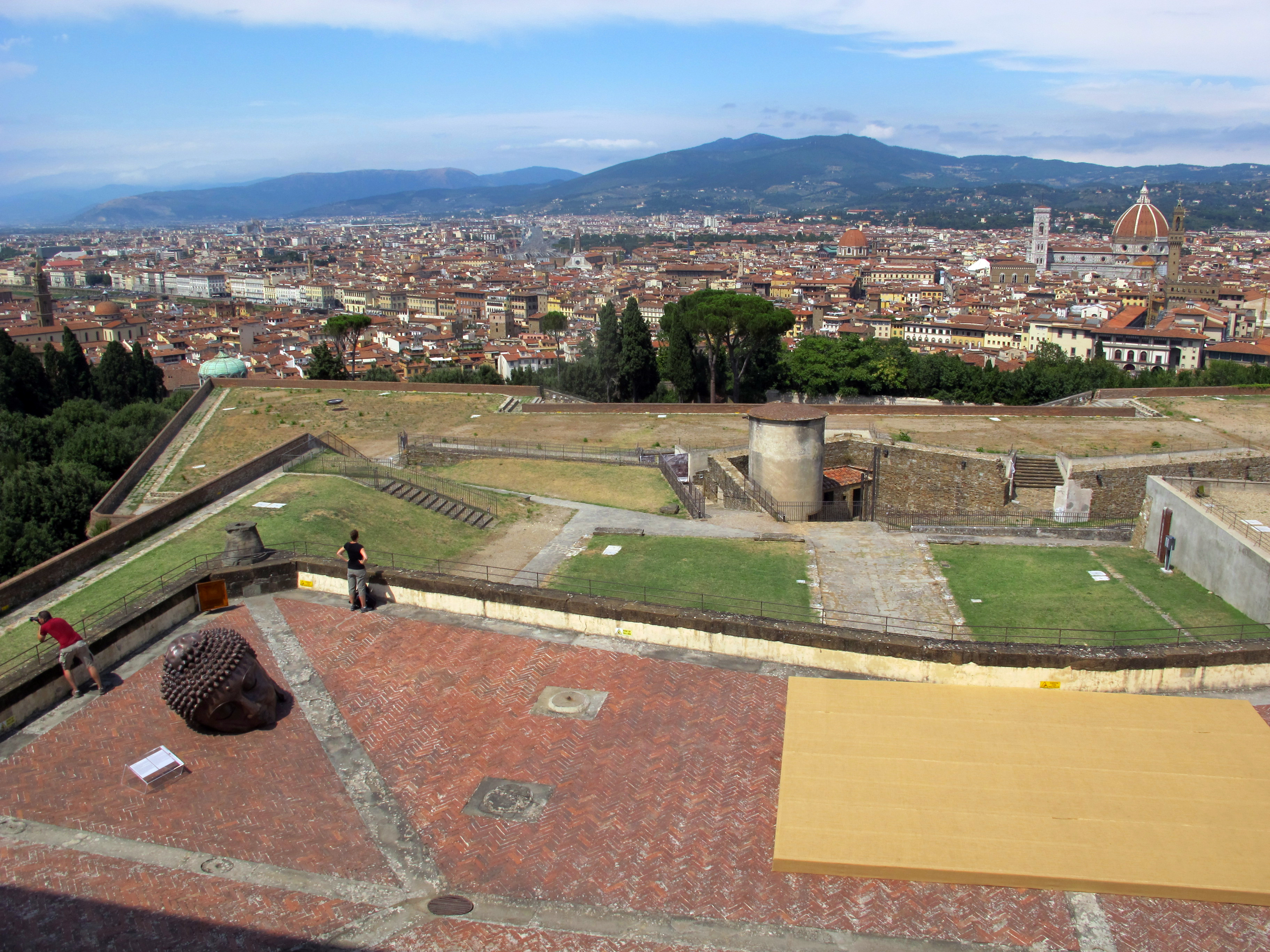 File Forte Belvedere Vista Su Firenze Dalle Terrazze 02 Jpg