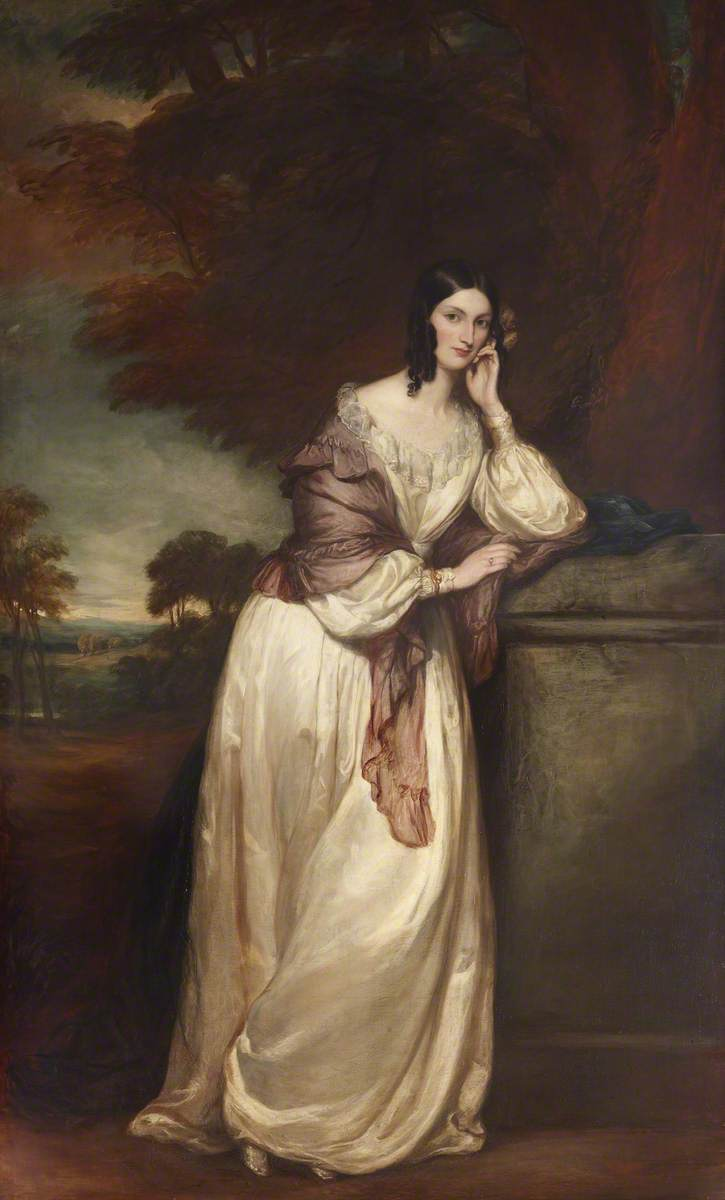 Francis Grant (1803-1878) - Lady Katherine Isabella Manners (1809–1848), Countess Jermyn - 851723 - National Trust.jpg