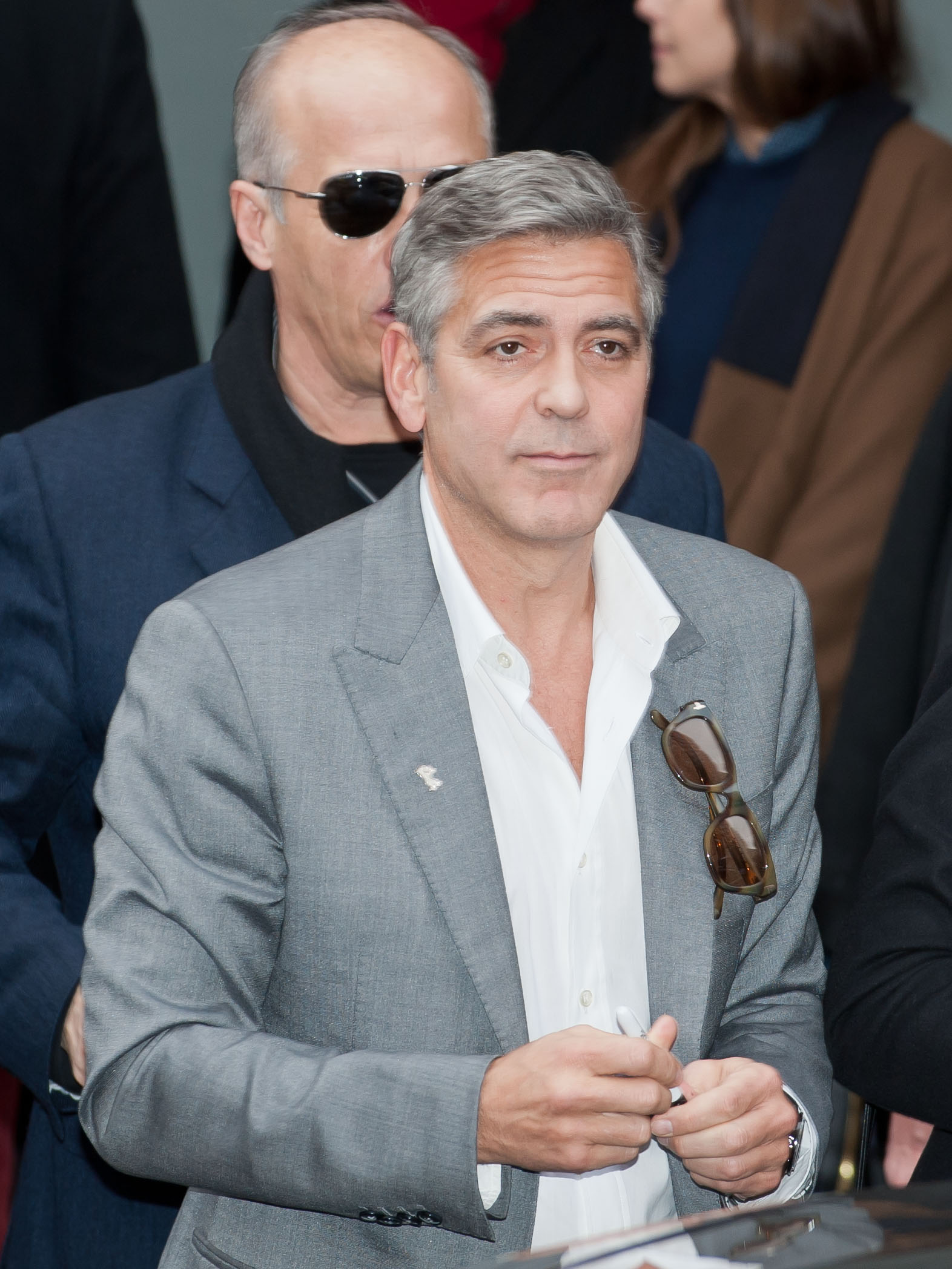 Depiction of George Clooney