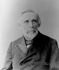 George S. Boutwell was the first Commissioner of Internal Revenue under President Abraham Lincoln.