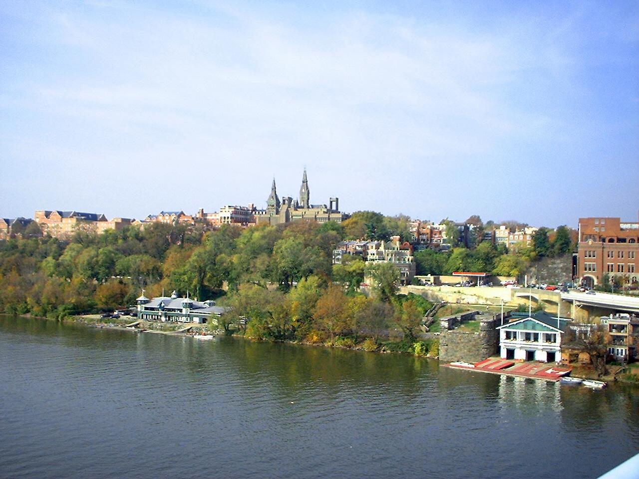 File:Georgetown University campus from the Key Bridge 2006.jpg