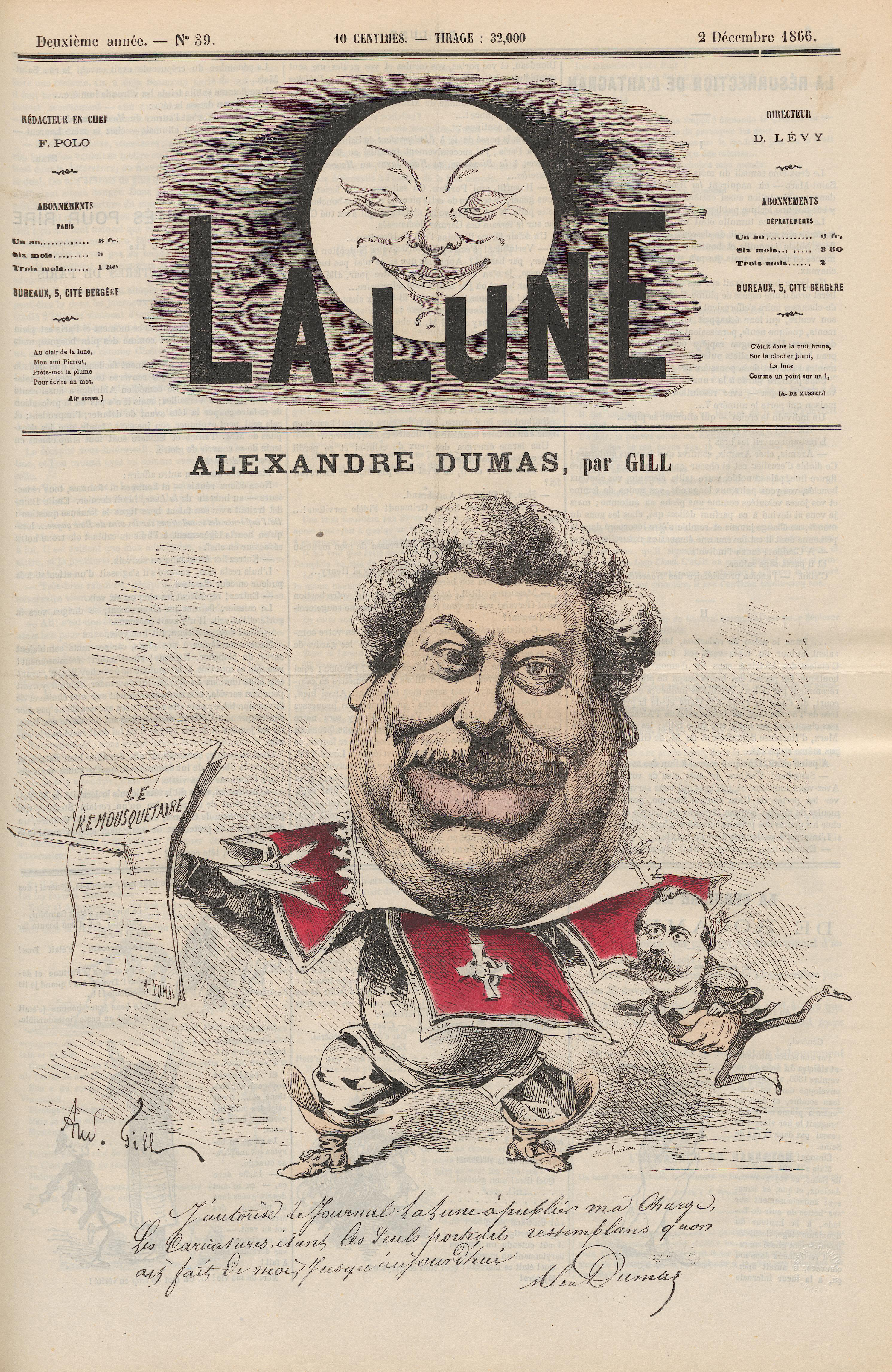 Fun Facts Friday: Alexandre Dumas