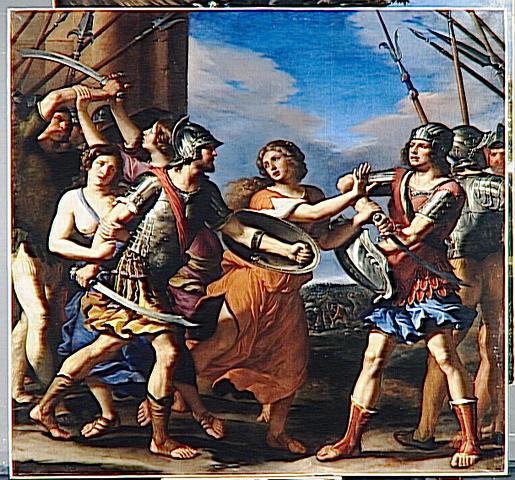 Hersilia Separating Romulus and Tatius