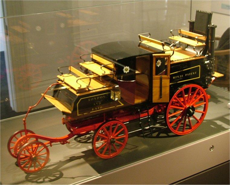 Carruagem a vapor o primeiro ônibus