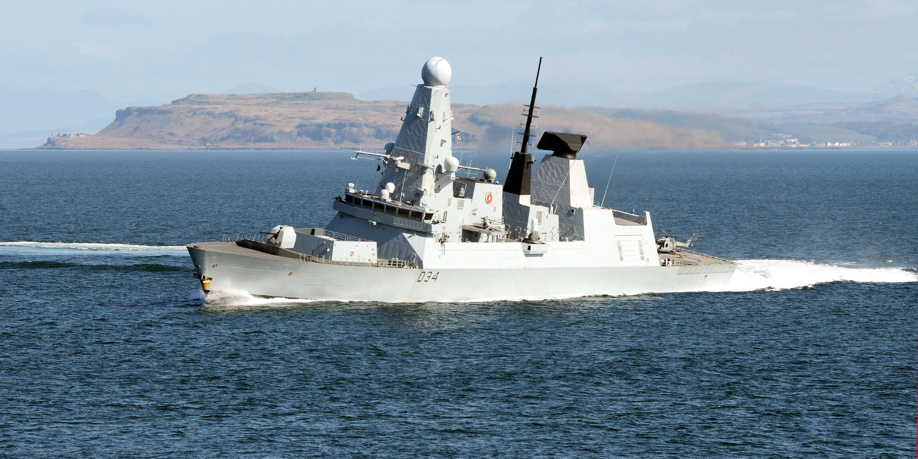 Type 45 Destroyer HMS Diamond test fires Sea Viper missile