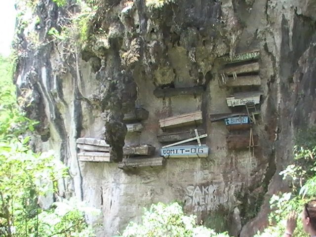 Hanging Coffins of Sagada Mountain Province