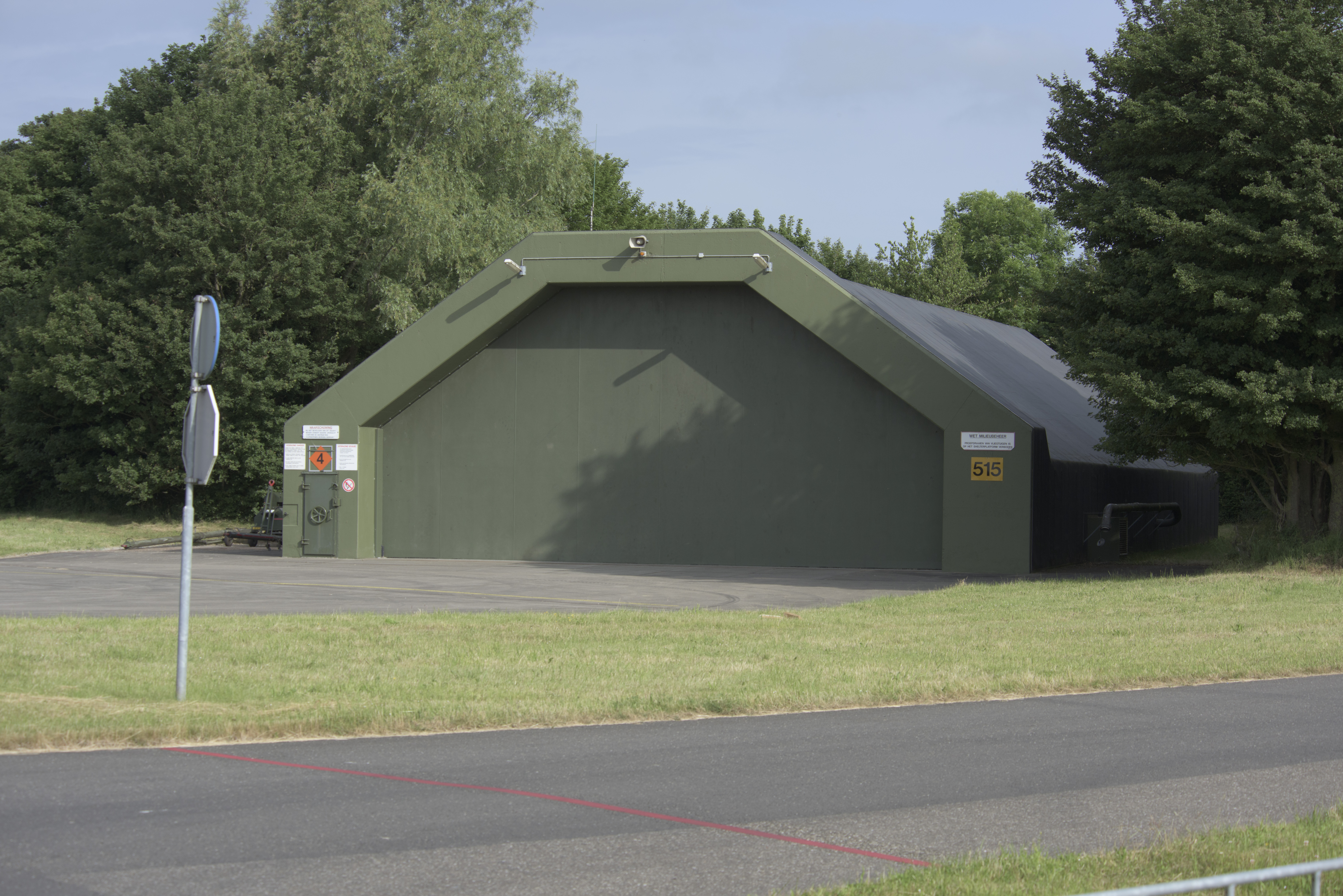 File Hardened Aircraft Shelter At Leeuwarden Air Base The