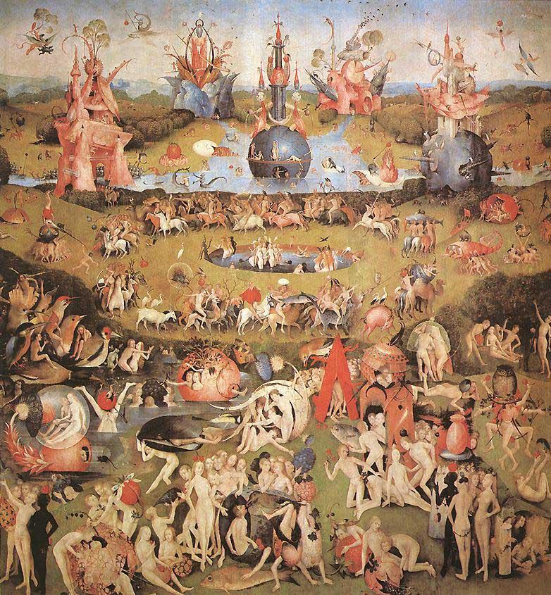Dateihieronymus Bosch Der Garten Der Lüste Mitteltafel Des