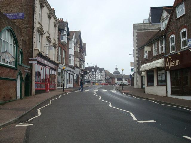 High Street, Crowborough - geograph.org.uk - 1530212