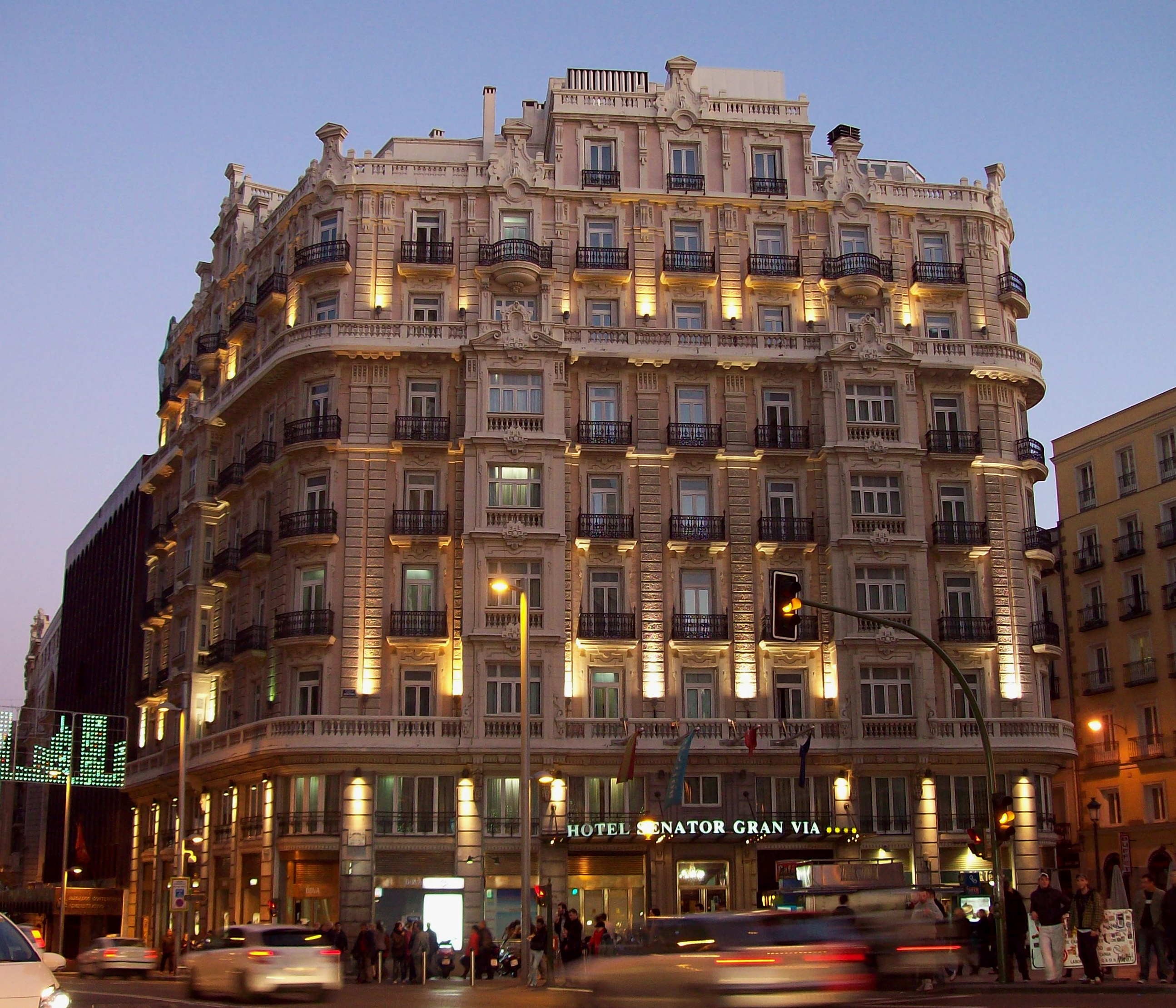 Image Gallery Hoteles Gran Via Madrid